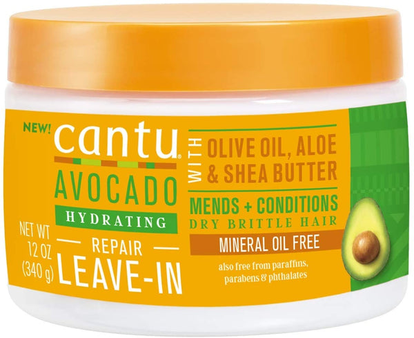 Cantu Avocado Hydrating Leave In - Soin sans rinçage 340g