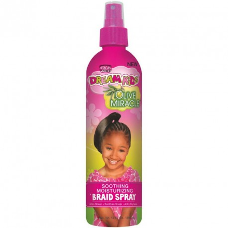 Dream Kids Soothing Moisturizing Braid Spray - Spray Hydratant Et Apaisant Pour Tresse