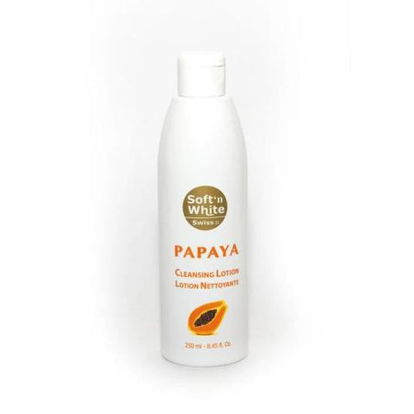 Soft'n White Swiss Papaya Cleansing Lotion - Lotion Nettoyante  250ml