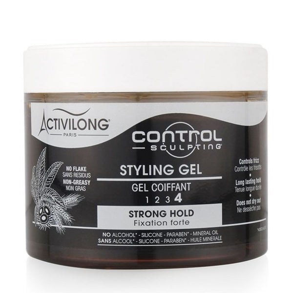 Control Sculpting Styling Gel Coiffant Fort Force 4