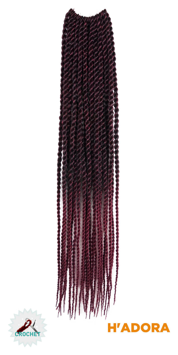H'adora Crochet Braid Viva Twist 2000 18""