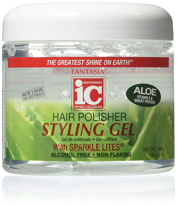 IC Fantasia Hair Polisher Styling Gel Aloe 454g