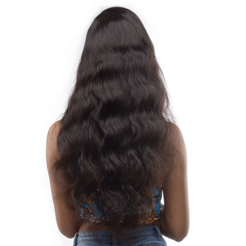 Lace Wig Frontal Loose Wave 16 Pouces Natural Color
