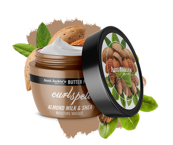Aunt Jackie's Butter Fusions CURL SPELL – Almond Milk and Shea Butter Moisture Masque 227g