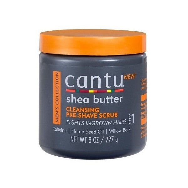 Cantu Men's Cleansing Pre-Shave Scrub - Gommage 227g