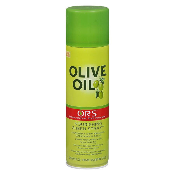 Organic Root Stimulator Olive Oil Sheen Spray - Brillantine 481 ml