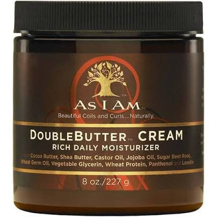 As I Am Double Butter Cream - Crème Riche Hydratation 227g