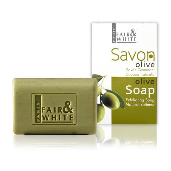 Fair And White Savon Gommant Olive 200g