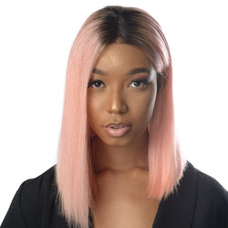 Lace Wig Frontal Brésilienne Straight Hair BOBO