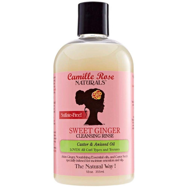 Camille Rose Sweet Ginger Cleansing Rinse - Shampoing 355ml
