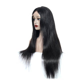 Lace Wig Frontal Indian Hair Couleur Naturelle 28 Pouces