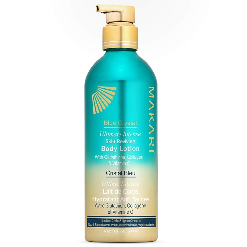 Makari Blue Crystal Ultimate Intense Body Lotion - Lait de Corps Hydratant Anti-Taches 500ml