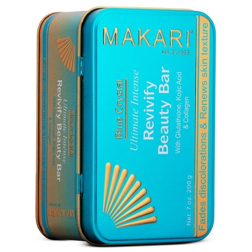 Makari Blue Crystal Ultimate Intense Revivify Beauty Bar - Savon Réparateur 200g