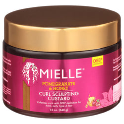 Mielle Organics Pomegranate & Honey Curl Sculpting Custard - Crème pour curl 340g