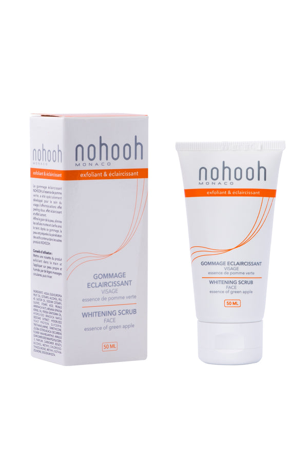 Nohooh Gommage Eclaircissant Visage 50ml