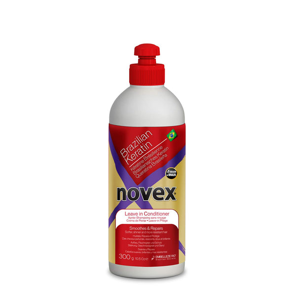 Novex Brazilian Keratin Leave In Conditioner - Après Shampoing Sans rinçage 300g