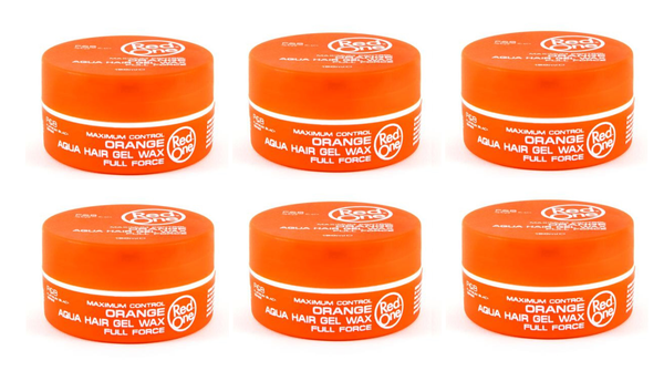 PACK 6 Red one Orange Aqua Wax 6x150ml