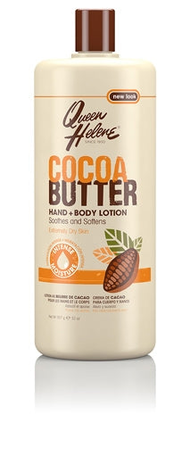 Queen Helene Cocoa Butter Hand and Body Lotion - Lait Beurre De Cacao Mains et Corps 907g