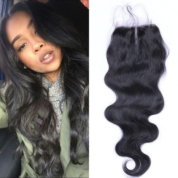 Full lace closure 4x4 Body Wave 10""