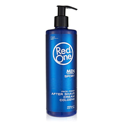 Red One Men Professional Sport After Shave Cream - Crème de Cologne après rasage 400ml