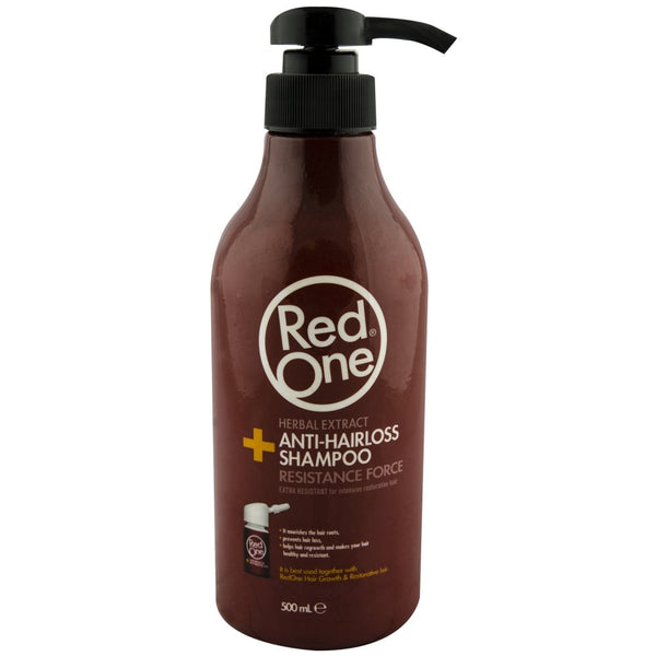 Red One Anti-Hairloss Shampoo - Shampoing Anti-chute 500ml