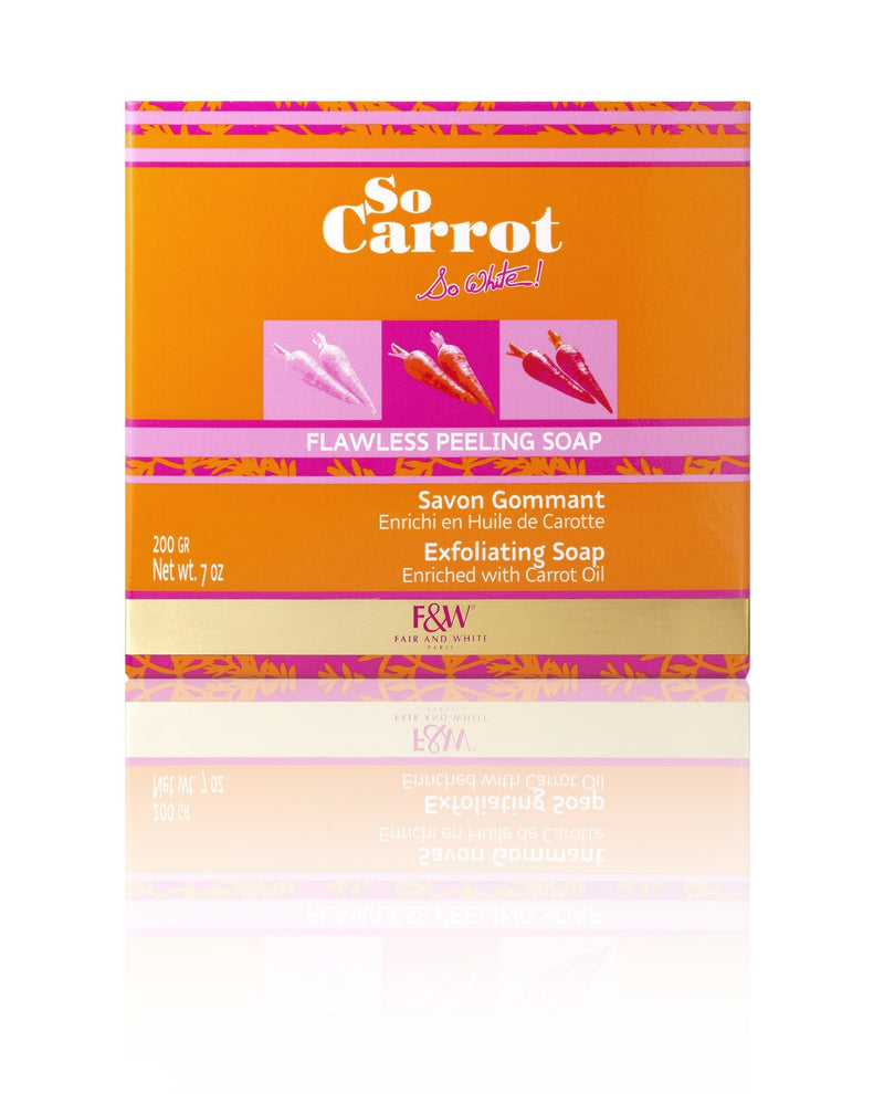 Fair And White So Carrot Savon éclaircissant GOMMANT 200g