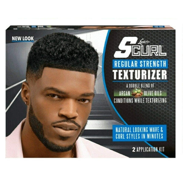 S-Curl Texturizer Kit 2 App. Regular - Défrisant Texturant 2 Application NORMAL