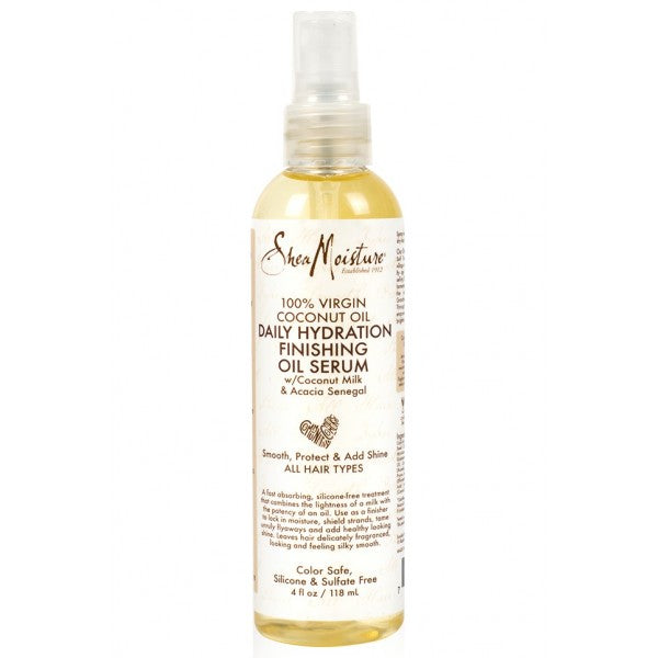 Shea Moisture Daily Hydratation Finishing Oil Serum - Serum huile de finition