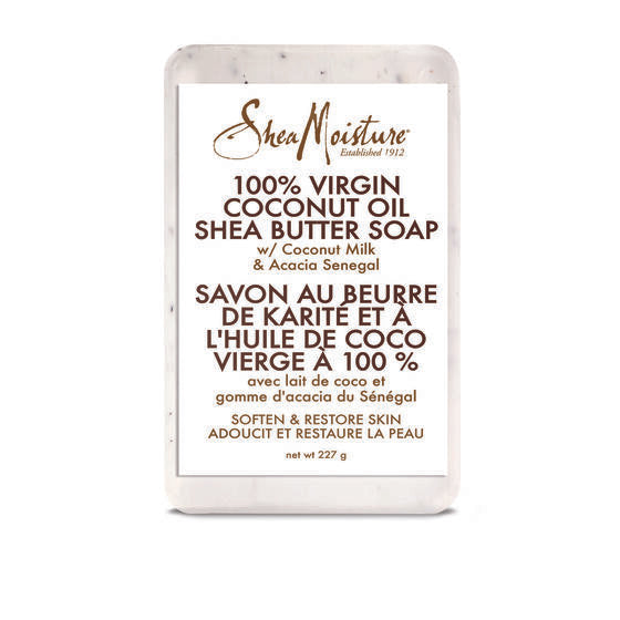 Shea Moisture 100% Virgin Coconut Oil Shea Butter Soap 230g