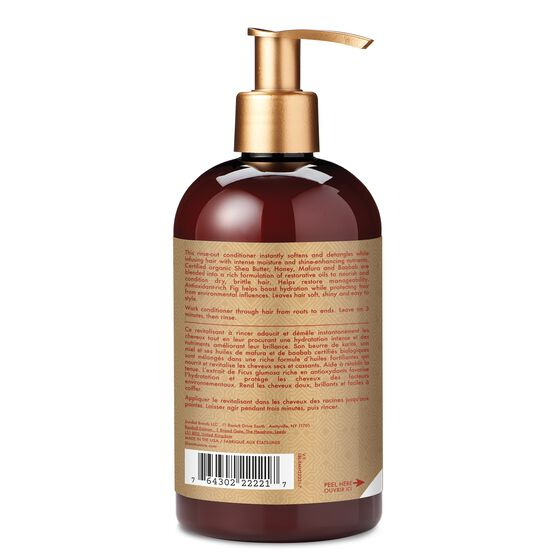 Shea Moisture Manuka Honey & Mafura Oil Intensive Hydration Conditioner - Après-Shampoing 384 ml