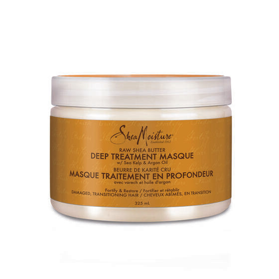 Shea Moisture Raw Shea Butter Deep Treatment Masque - Masque Traitement Profond 340g