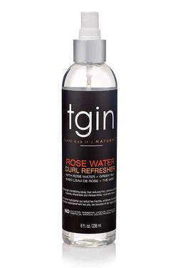 TGIN Rose Water Curl Refresh - Brume hydratante 236ml