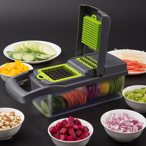 7In1 Multifunctional Vegetable Cutter Mandoline  Fruit Slicer