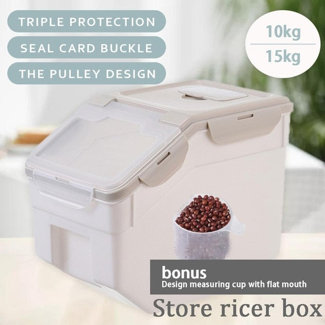 Multi-function Sealed Insect-proof And Moisture-proof Storage