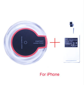 Qi Wireless Charger Desktop USB Charging Pad