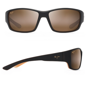 Maui Jim Local Kine Polarized Wrap Sunglass