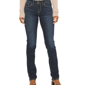 Avery High Rise Straight Leg Curvy Jean