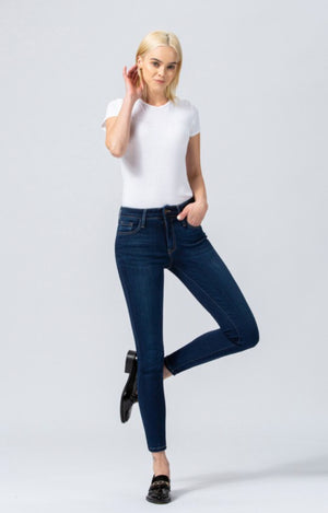 Flying Monkey Mid Rise Ankle Skinny