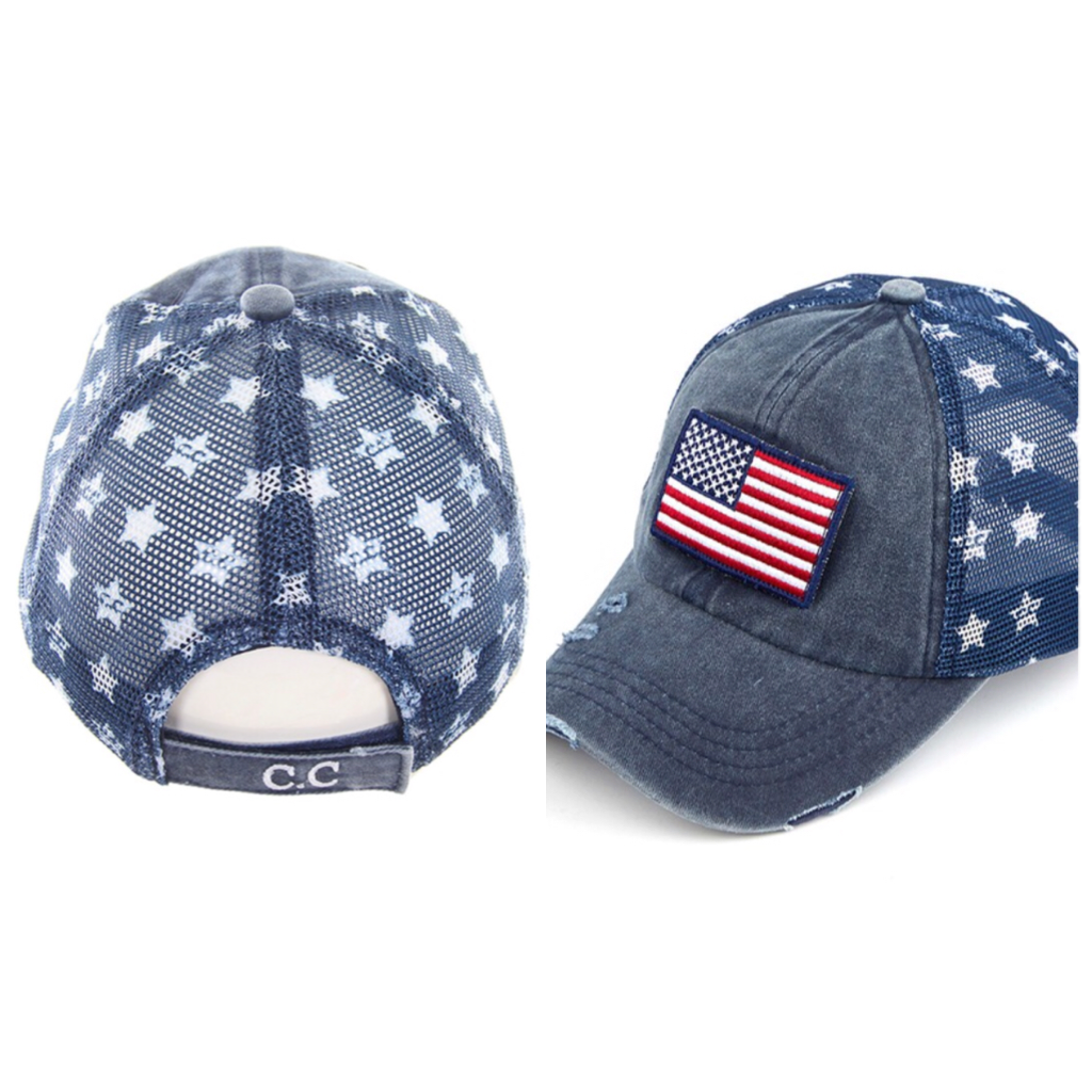 C.C. Exclusive American Flag Cap