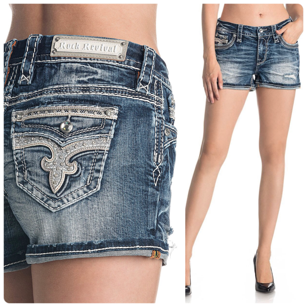 Rock Revival Barbra Easy Fit Shorts