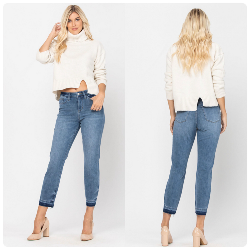 THERMADENIM Boyfriend Jean by Judy Blue