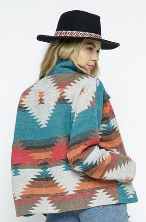 Lightweight Aztec Jacket