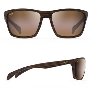 Maui Jim MAKOA Polarized Wrap Sunglasses