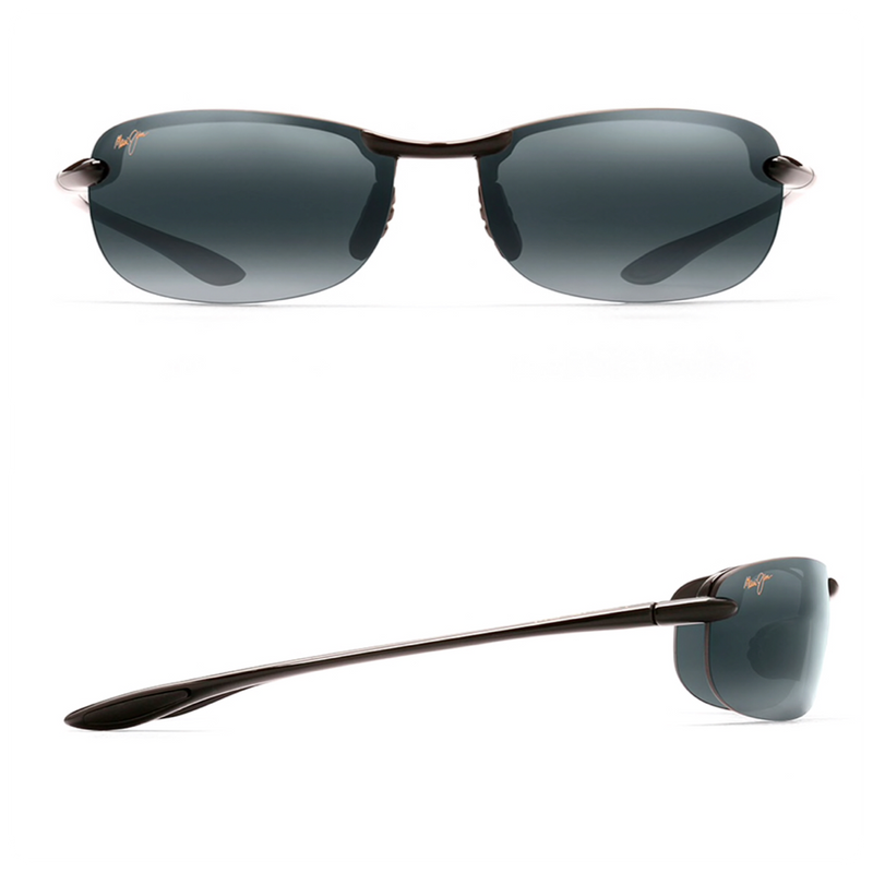 Maui Jim MAKAHA Polarized Rimless Sunglasses