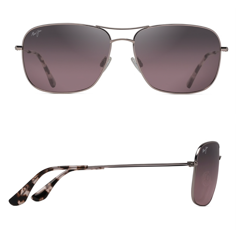 Maui Jim BREEZEWAY Polarized Aviator Sunglasses