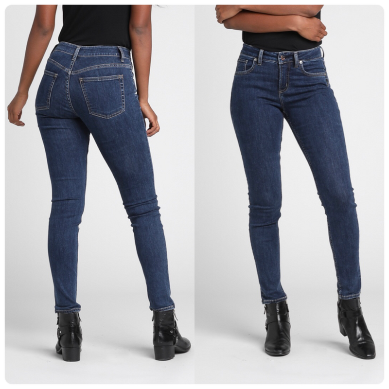 Avery High Rise Skinny Leg Jean