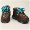 Leslie Childs Glittered Leopard Shoe
