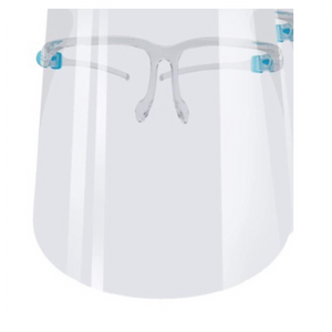 Protection Goggles with Clear Wide Visor Lightweight Transparent Shield