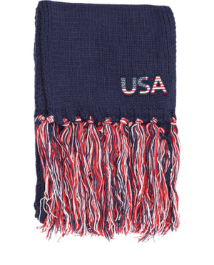 CC USA Scarf with Tassels