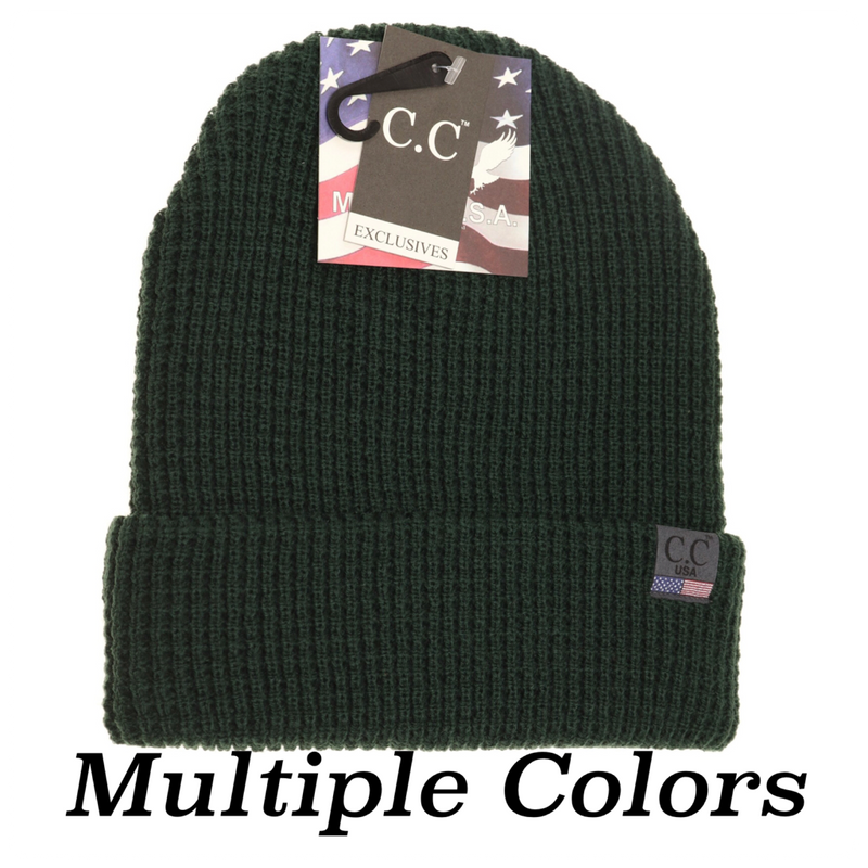 CC Unisex MADE IN THE USA Beanie